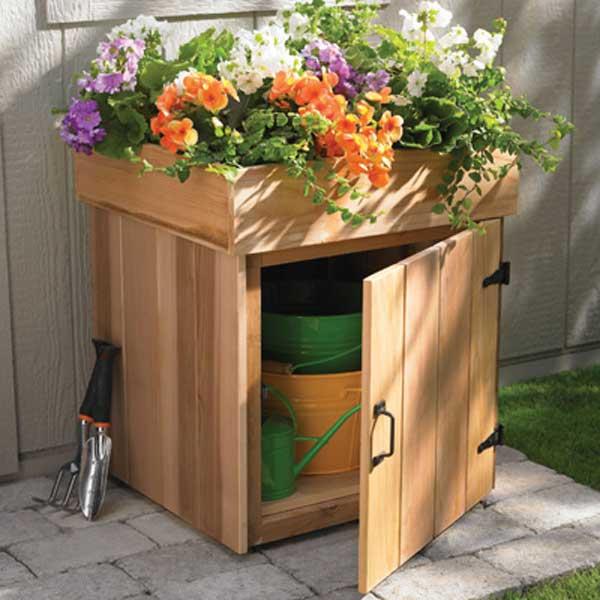 Diy Outdoor Storage Ideas Woohome 9