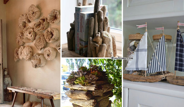 Home Decor Natural Wood: 30 DIY Driftwood Decoration Ideas Bring Natural Feel To