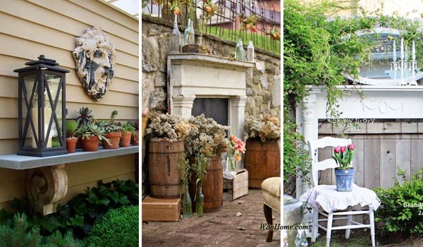 Top 16 Attractive Ways to Decorate Your Outdoor Space With Mantel