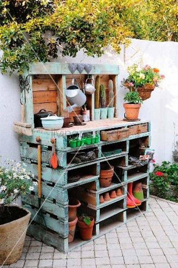 25 easy and cheap pallet storage projects you can make yourself pallet storage ideas woohome 3 solutioingenieria Choice Image