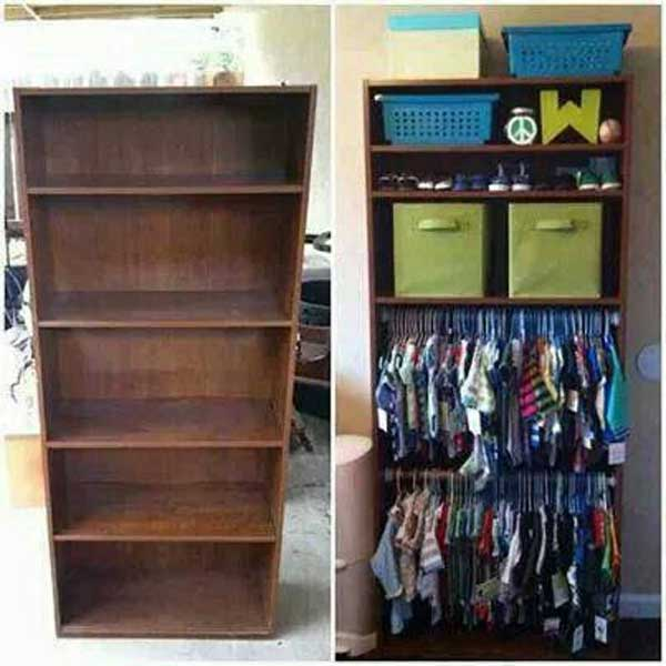 23 Money Saving Ways To Repurpose And Reuse Old Bookcases Amazing Diy Interior Home Design