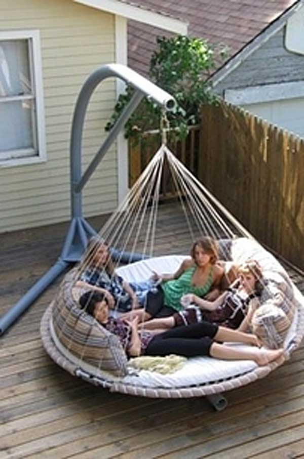 Outdoor Hammock Bed By The Floating Bed Co