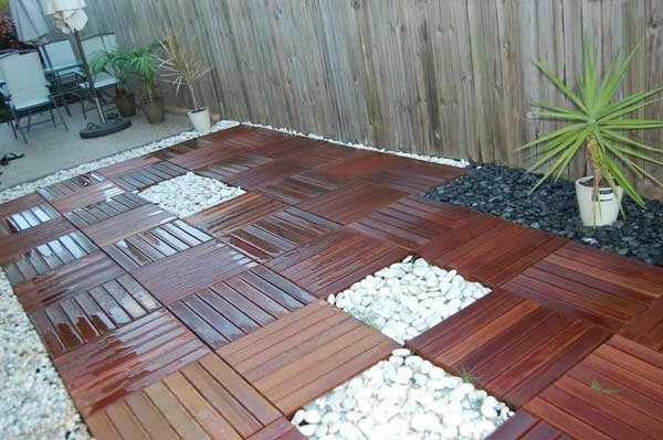 indoor and outdoor floor woohome 12 - Floor Design Ideas