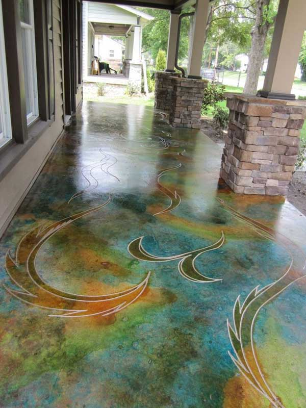Beautiful Indoor And Outdoor Floor Woohome 15