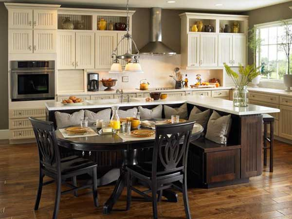 Kitchen Island With Seating Woohome 6