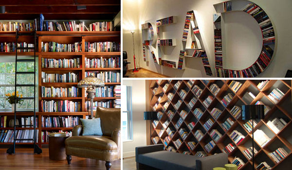 24 Dreamy Wall Library Design Ideas for All Bookworms - Amazing ...