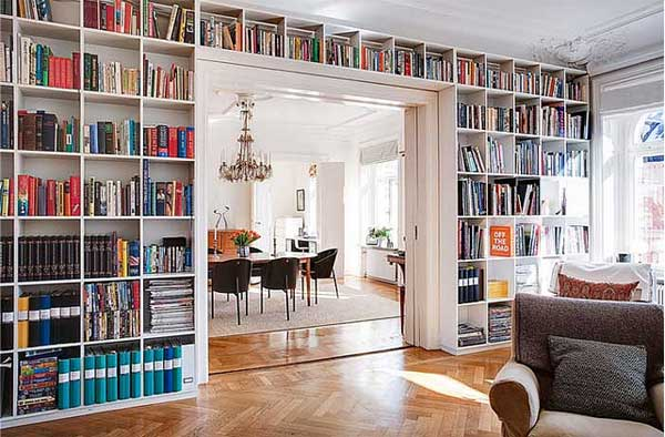 Library Design Ideas home library study design ideas 24 Dreamy Wall Library Design Ideas For All Bookworms