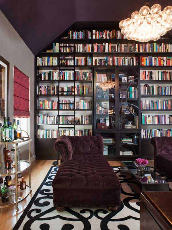 Home Library Design: 24 Dreamy Wall Library Design Ideas For All Bookworms