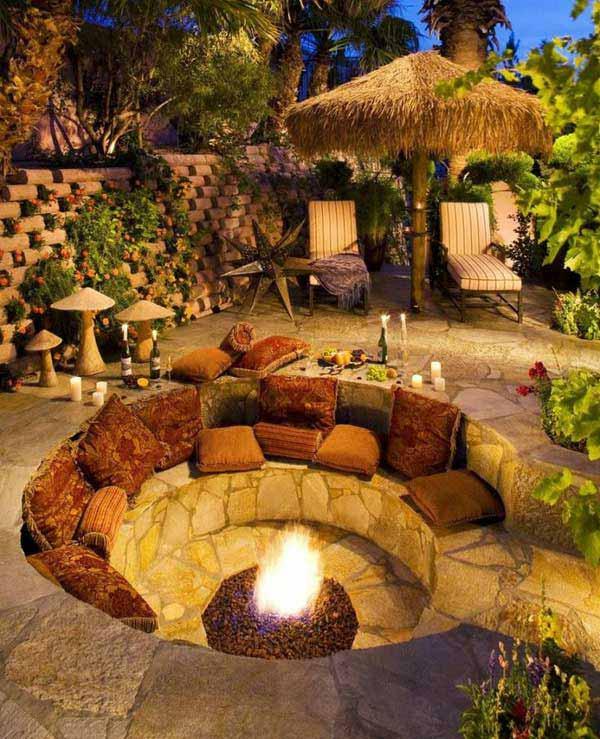 Home Design Backyard Ideas: 23 Impressive Sunken Design Ideas For Your Garden And Yard