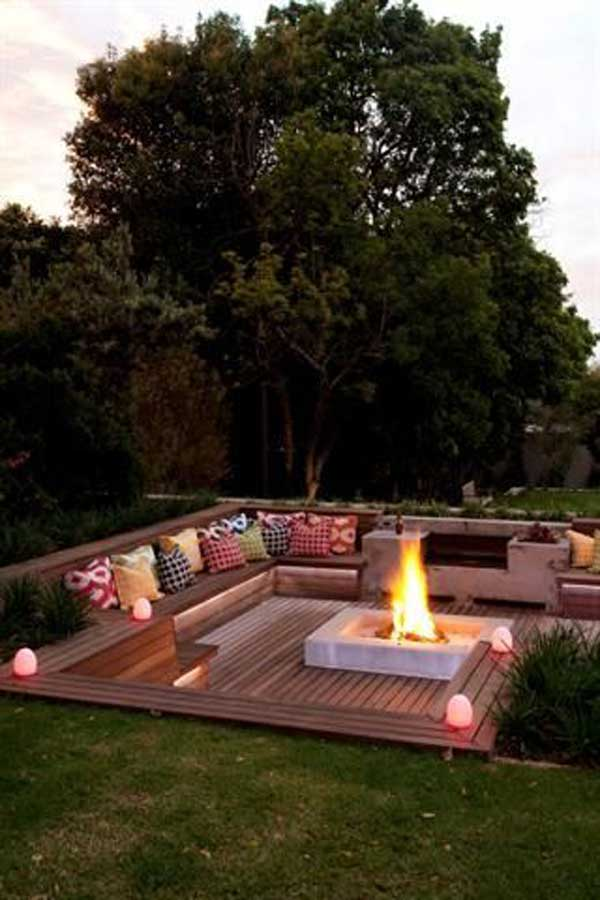 23 Impressive Sunken Design Ideas For Your Garden And Yard Amazing
