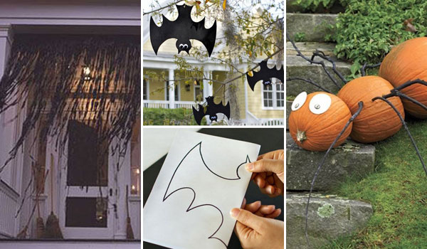 42 last minute cheap diy halloween decorations you can easily make - Easy To Make Halloween Decorations For Outside