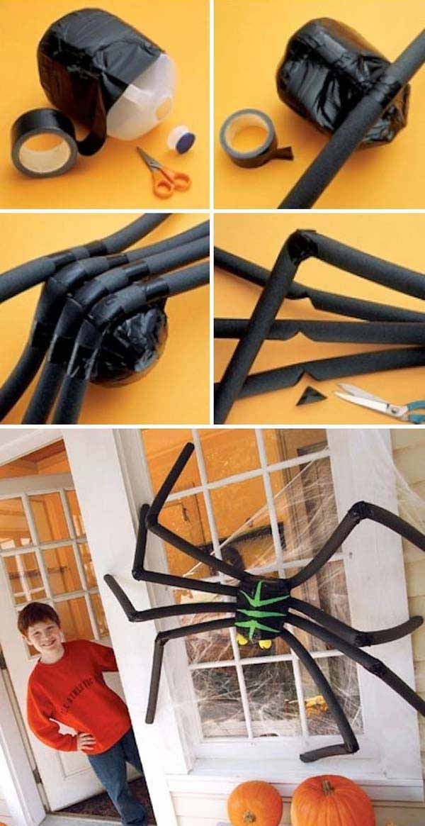 42 last minute cheap diy halloween decorations you can Diy halloween party decorations