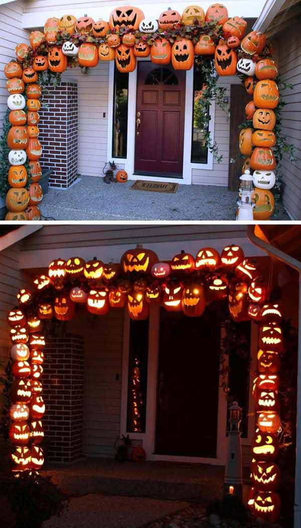 42 last minute cheap diy halloween decorations you can easily make amazing diy interior. Black Bedroom Furniture Sets. Home Design Ideas