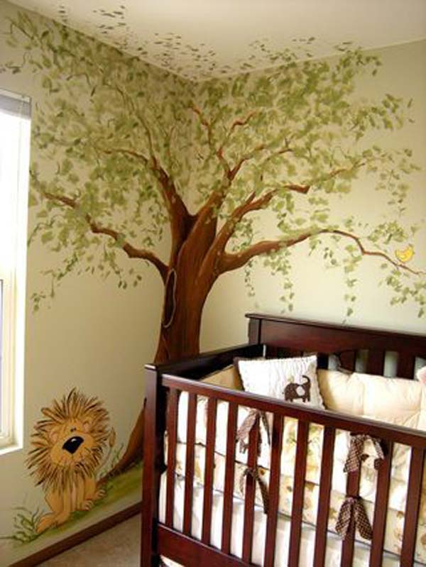 Wall Tree Decorating Ideas Woohome 28