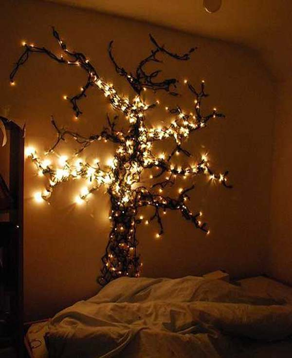 Wall Tree Decorating Ideas Woohome 29