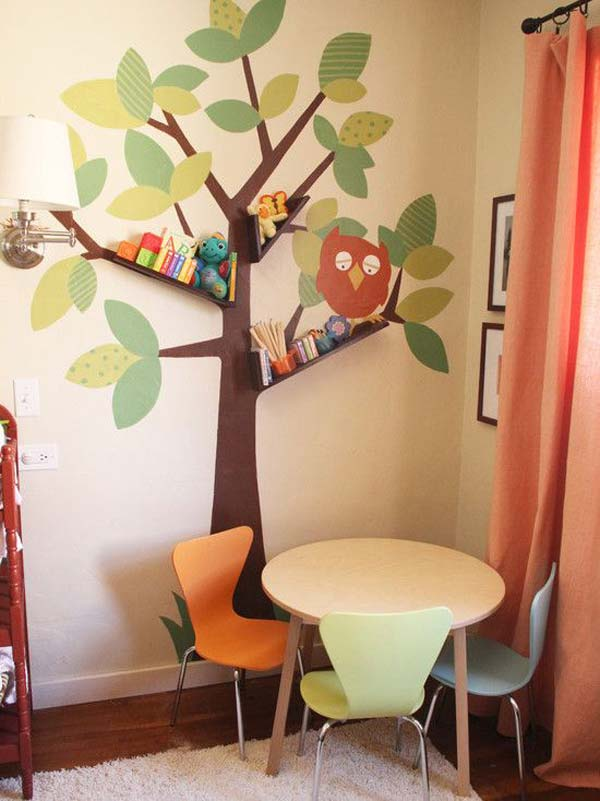Wall Tree Decorating Ideas Woohome 3