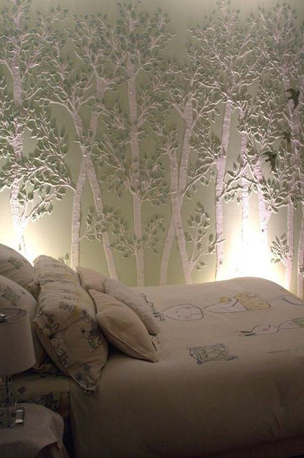 Wall Tree Decorating Ideas Woohome 6