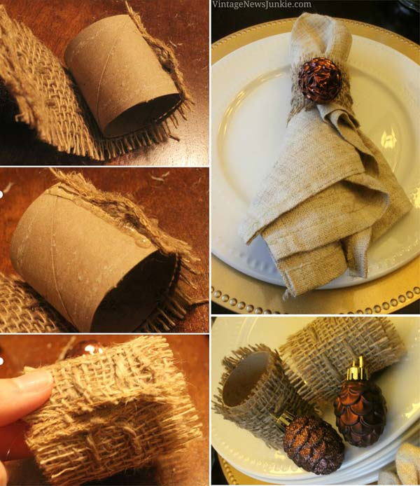 Home Design Backyard Ideas: Top 20 Lovely DIY Napkin Ring Ideas For Thanksgiving Table