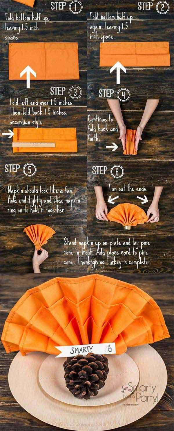 Budget Energy Top Up >> Top 20 Lovely DIY Napkin Ring Ideas For Thanksgiving Table