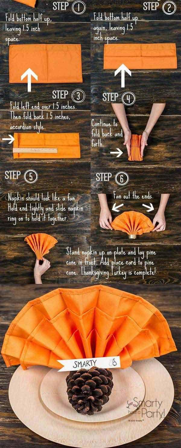 Top 20 Lovely DIY Napkin Ring Ideas For Thanksgiving Table ...