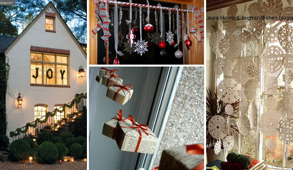 christmas window decoration 0 - Cool Christmas Decoration Ideas