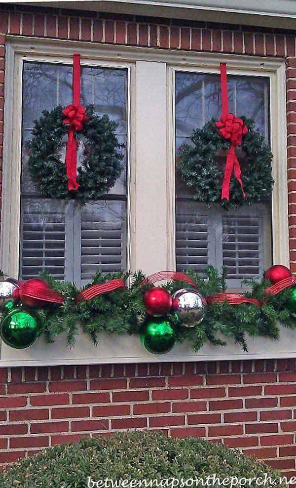 Top 30 Most Fascinating Christmas Windows Decorating Ideas Amazing Diy Interior Home Design