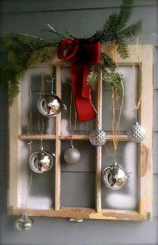 25 DIY Rustic Christmas Decoration Ideas & Tutorials 2017