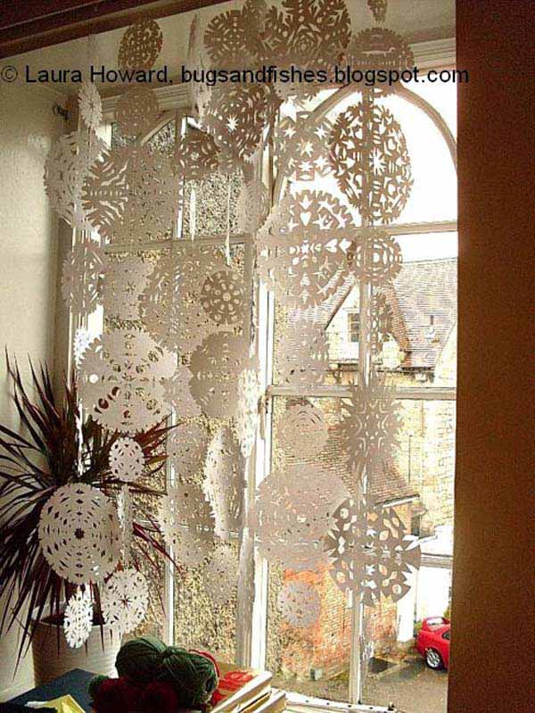 christmas-window-decoration-18 & Top 30 Most Fascinating Christmas Windows Decorating Ideas - Amazing ...