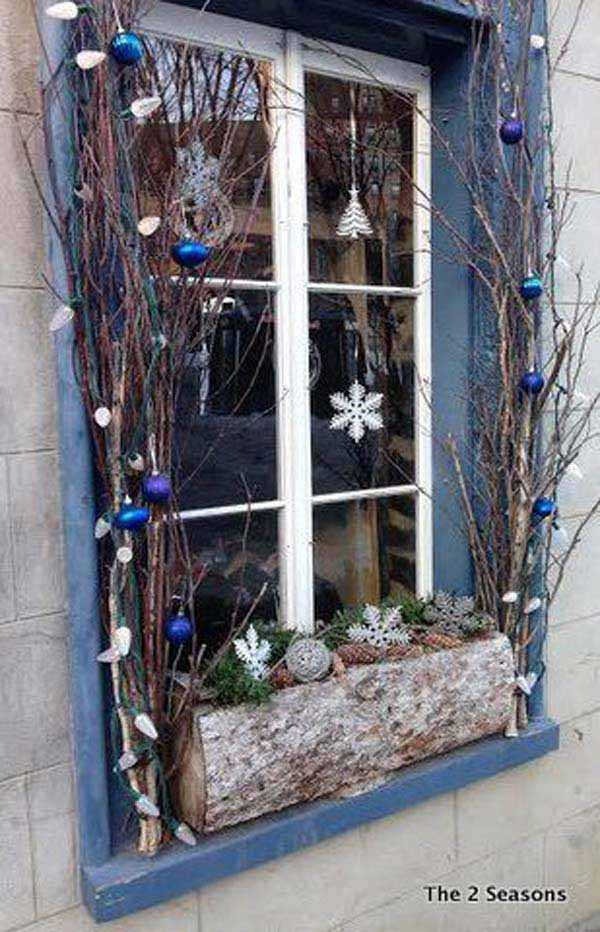 christmas window decoration 2 - How To Decorate Windows For Christmas