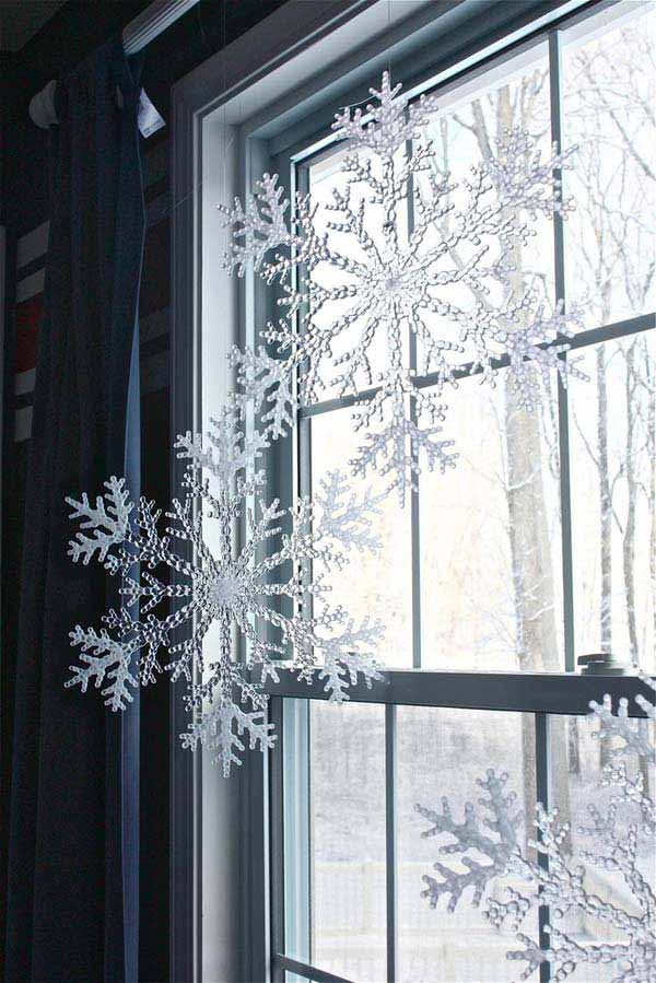 christmas window decoration 23 - How To Decorate Windows For Christmas