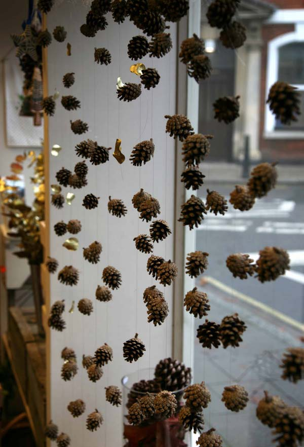 christmas window decoration 25