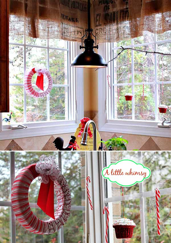 christmas-window-decoration-28 & Top 30 Most Fascinating Christmas Windows Decorating Ideas - Amazing ...