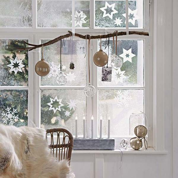 holiday window decorating ideas