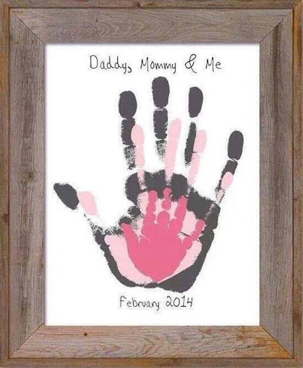 28 Most Fun Hand And Footprint Art Ideas For Home Decor Amazing Diy Interior Home Design