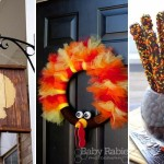 Turkey-Inspired Decorations and Crafts For Thanksgiving Home
