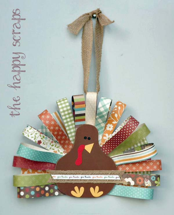 25 Diy Decorating Projects That You Are Inspired To Do: Turkey-Inspired Decorations And Crafts For Thanksgiving Home