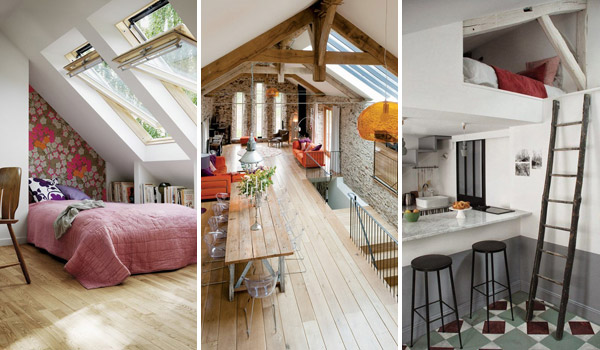 Cleverly Increase Living Space By Making Use Of Unused Attic