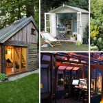 Backyard Shed Office You Would Love To Go To Work