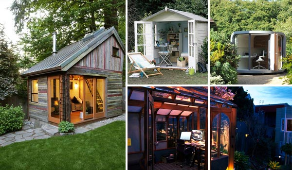 Backyard Cottage backyard shed office you would love to go to work - amazing diy
