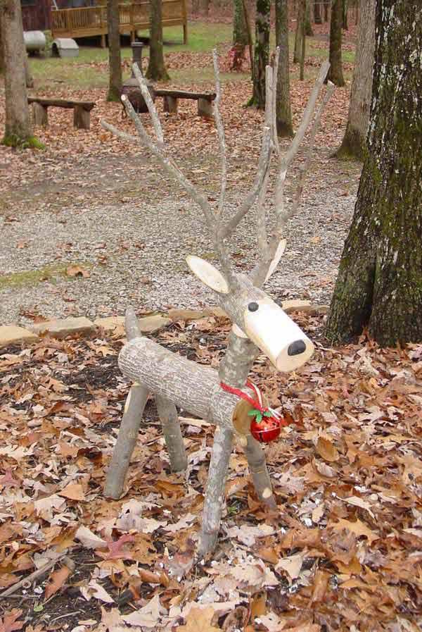 Christmas Decor With Wood Woohome 11