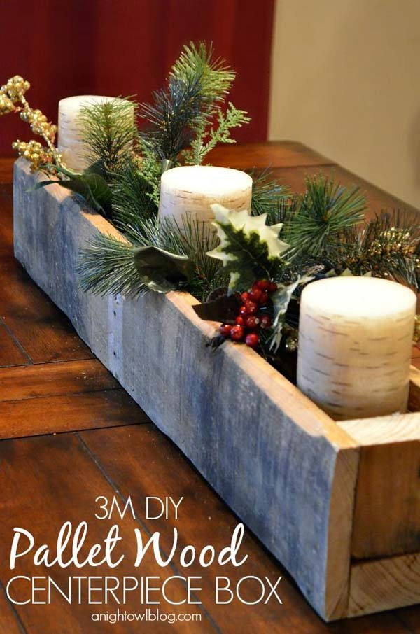christmas decor with wood woohome 28 - Diy Wood Christmas Decorations