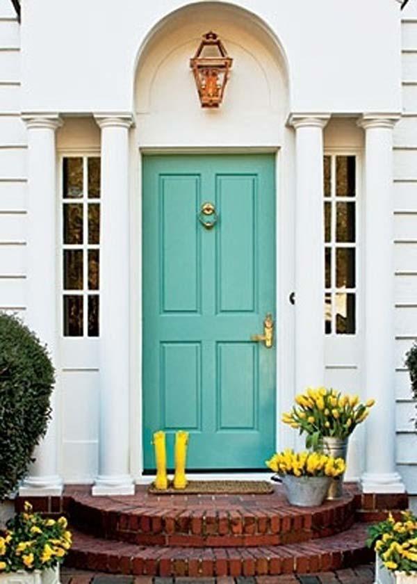 Colored Front Door 2