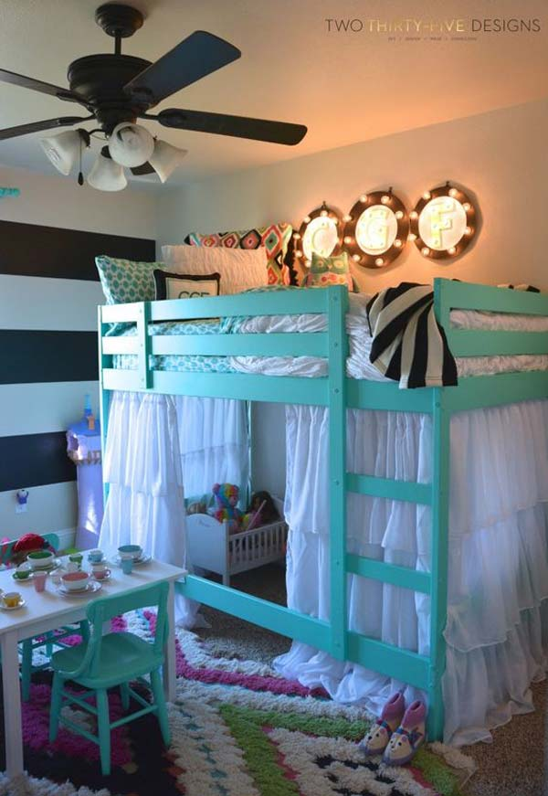 26 Cute Ideas To Add Fun To a Child Room Amazing DIY
