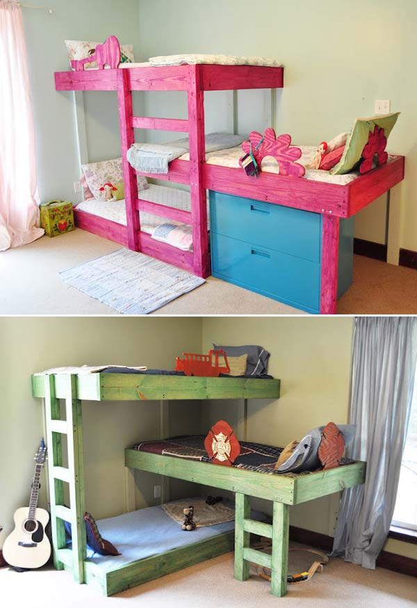 26 Cute Ideas To Add Fun To a Child Room - Amazing DIY ...