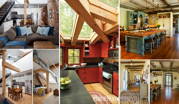 High Quality 32 Wonderful Ideas To Design Your Space With Exposed Wooden Beams