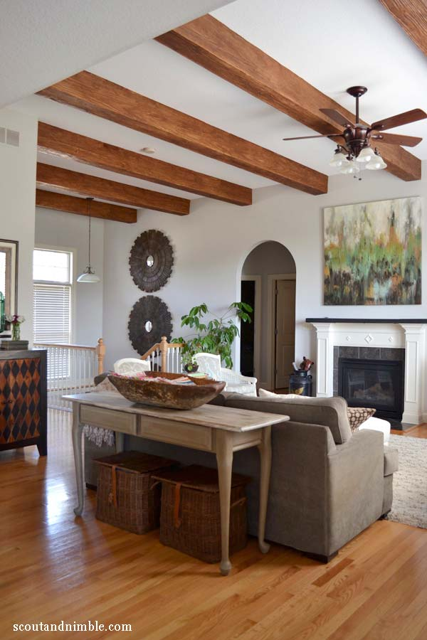 Wood Beam Ceiling Ideas ~ Wonderful ideas to design your space with exposed