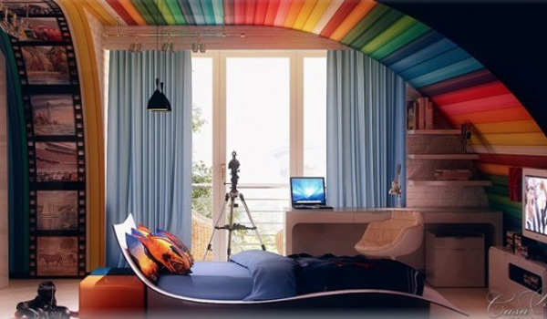 Awesome Ideas Adding Rainbow Colors To Your Home Decor