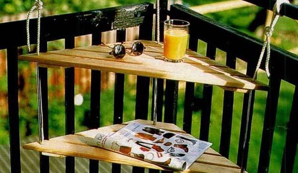 Tiny Balcony Furniture 0