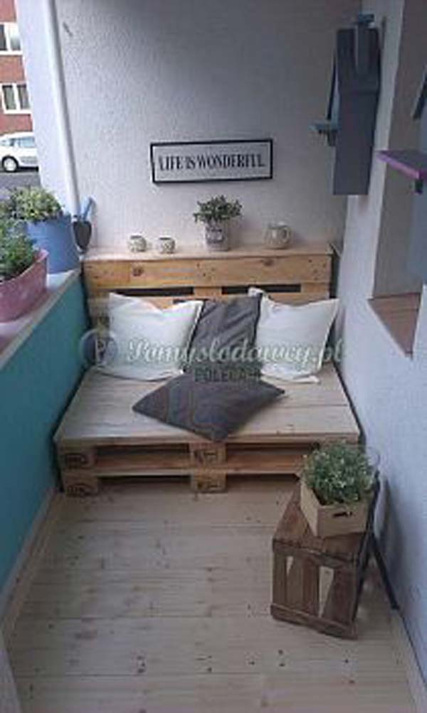 26 Tiny Furniture Ideas for Your Small Balcony - Amazing DIY ...