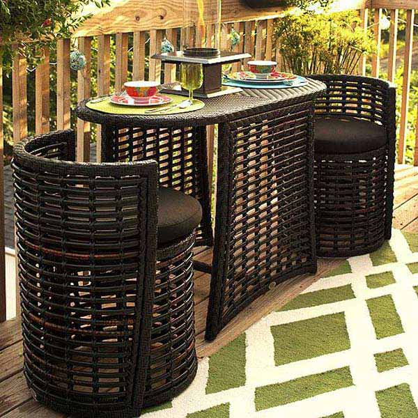 High Quality Tiny Balcony Furniture 18